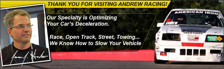 Welcome to Andrew Racing