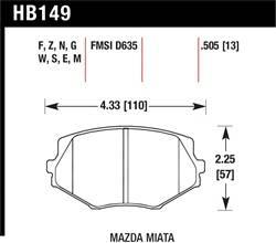 NASA Spec Miata 1.8, Front & Rear Combo - NSM1.8F + NSM1.8R